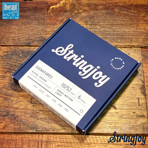 Stringjoy - 6 String Electric Guitar Strings Light Top Heavy Bottom (10-52)