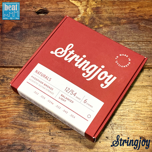 Stringjoy - Natural Bronze™ Phosphor Acoustic Guitar Strings Light (12-54)