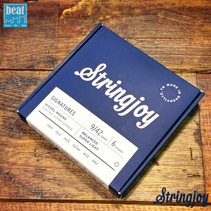 Stringjoy - 6 String Electric Guitar Strings Super Light (9-42)