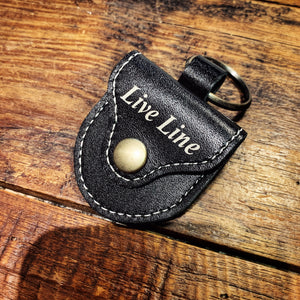 Live Line - Leather Pick Case - Black [LPC1200BK]