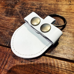 Live Line - Leather Pick Case - White [LPC1200WH]