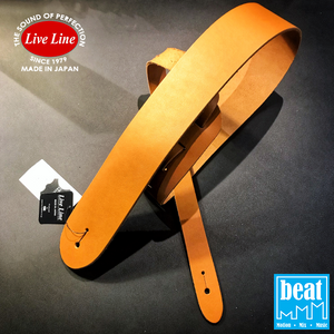 Live Line Standard Style Leather Straps - Camel [LM2800CM]