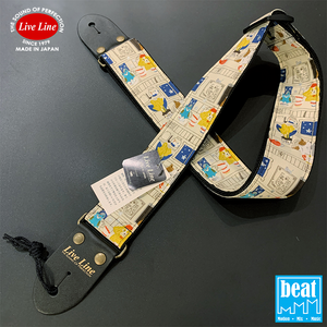 Live Line - LS2000 Series Guitar Straps - Animal's Cafe [LS2000ANC]