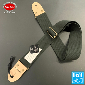 Live Line - 50mm width Acrylic and cotton blend Straps - Grey [LS2000CGY]