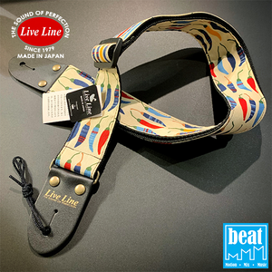 Live Line - LS2000 Series Guitar Straps - Red Papper [LS2000RP]