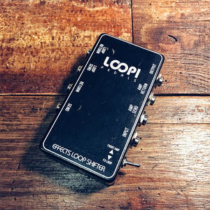 LOOPI PEDALS - Effects Loop Shifter Switch Patchbox