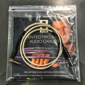 Analysis Plus - Silver Oval Speaker Cable (Straight to 90)