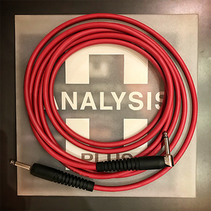 Analysis Plus - Stage Red Genesis Pure Instrument Cable (12ft)