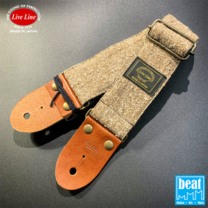 Live Line - Jazz NEP Tweed Series Straps - Brown [YST32-1]