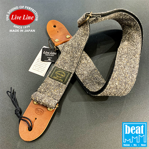 Live Line - Jazz NEP Tweed Series Straps - Black [YST32-2]