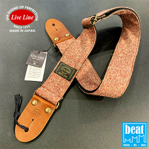 Live Line - Jazz NEP Tweed Series Straps - Red [YST32-3]