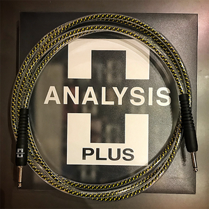 Analysis Plus - Yellow Oval with OVERMOLD Plug (15ft)