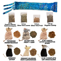 Deluxe Cat Herb & Toy Sample Pack
