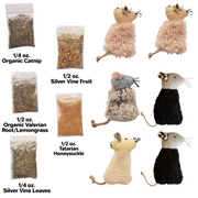 Stuff-it-Yourself Cat Herb & Toy Sample Pack