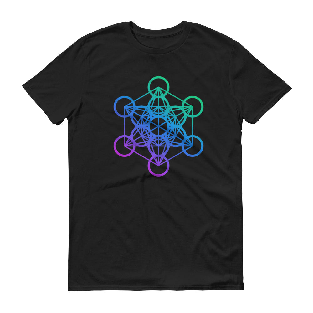 Metatron Cube Short-Sleeve T-Shirt