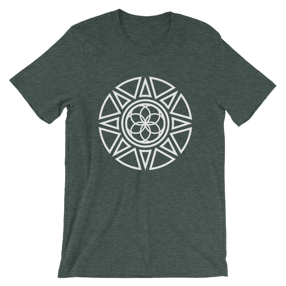 Seed of Life / Sun Short-Sleeve Unisex T-Shirt