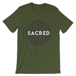 Sacred Flower of Life Short-Sleeve Unisex T-Shirt