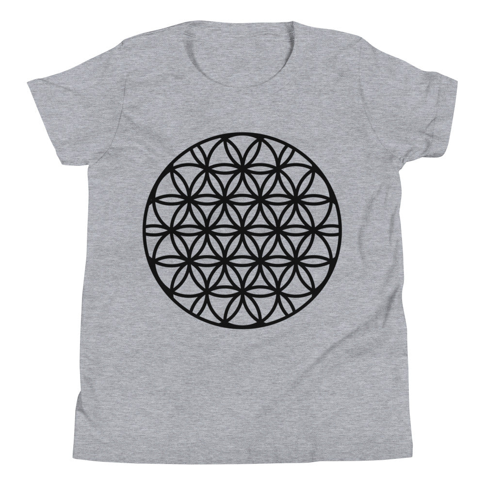 Flower of Life Youth Short Sleeve T-Shirt