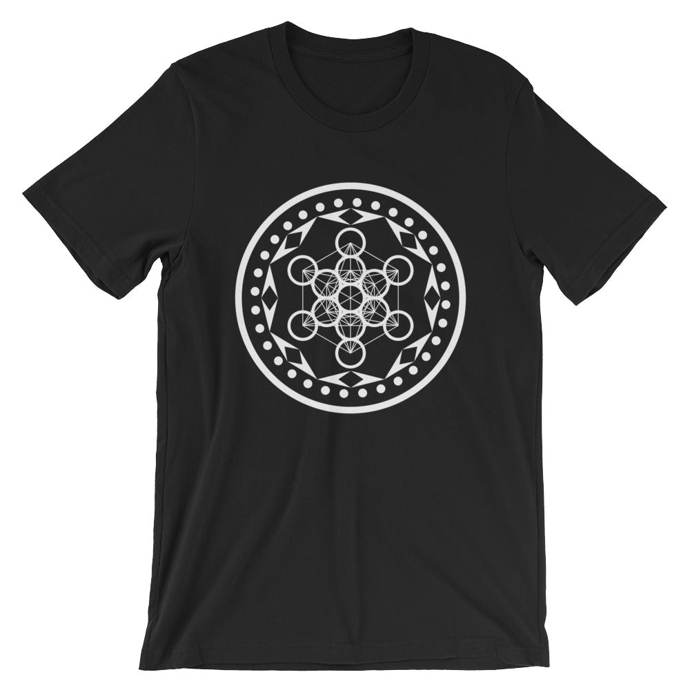 Metatron's Cube Short-Sleeve Unisex T-Shirt