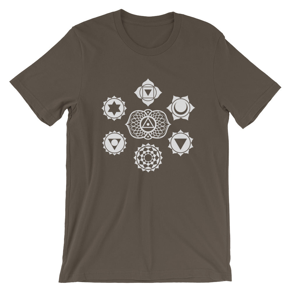 Chakras Short-Sleeve Unisex T-Shirt