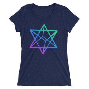 Merkabah Ladies' short sleeve t-shirt