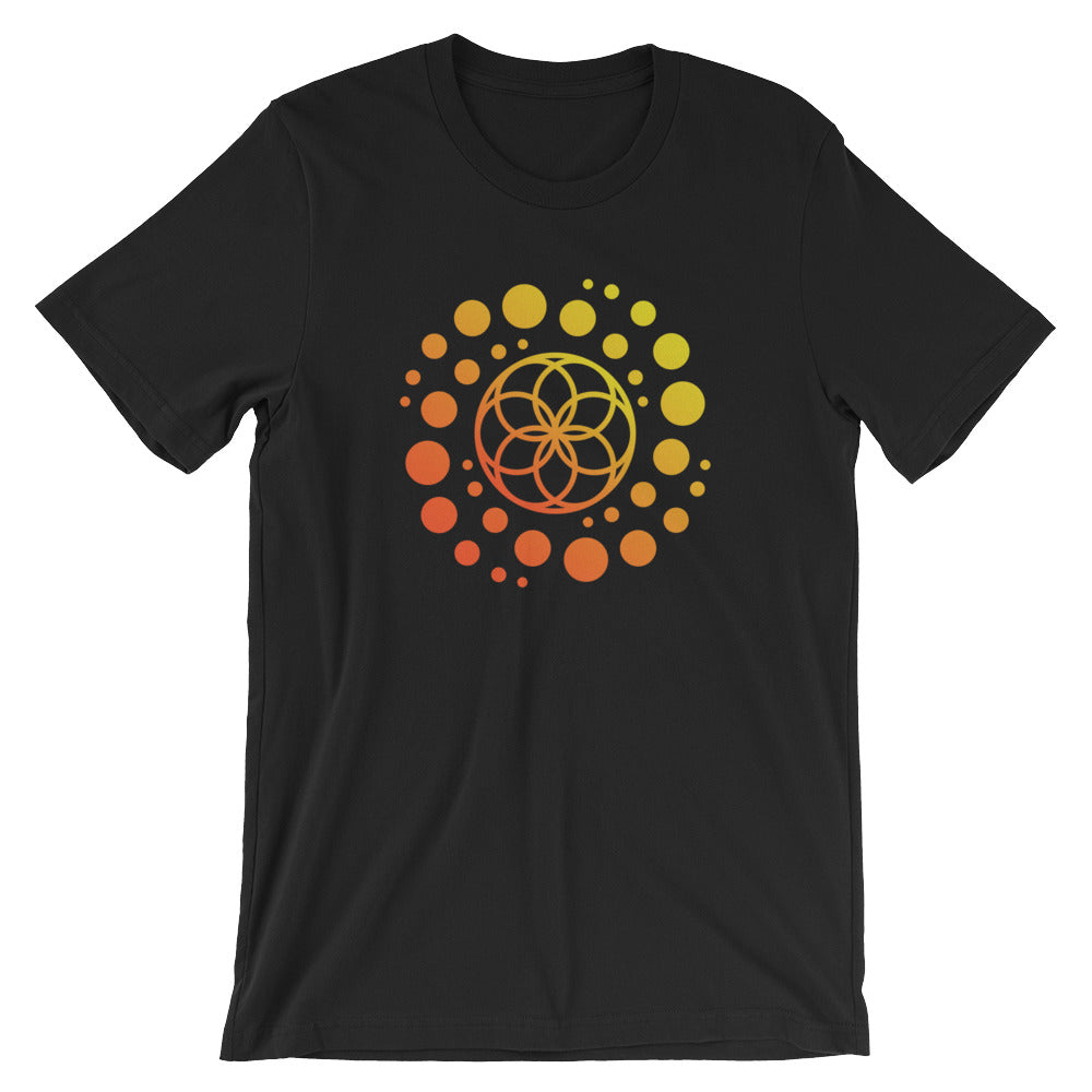 Seed of Life / Galaxy Short-Sleeve Unisex T-Shirt