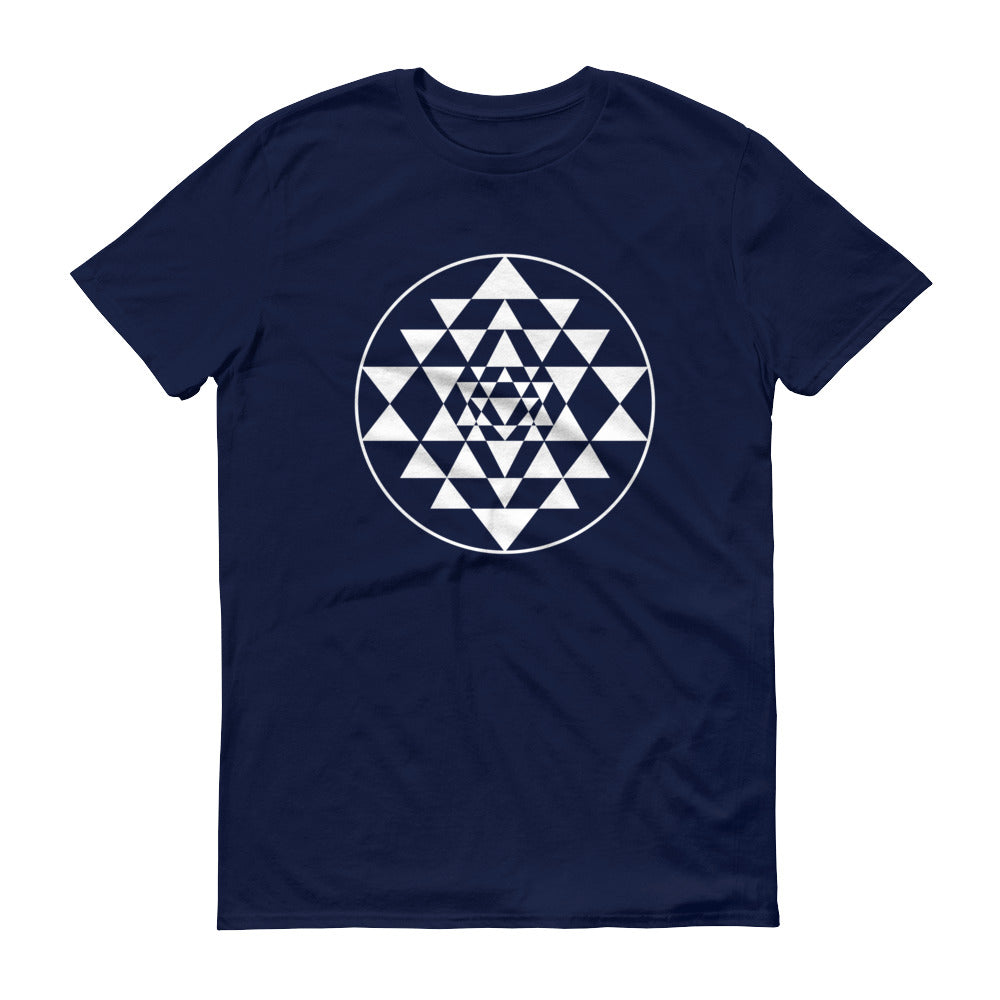 Sri Yantra Short-Sleeve T-Shirt