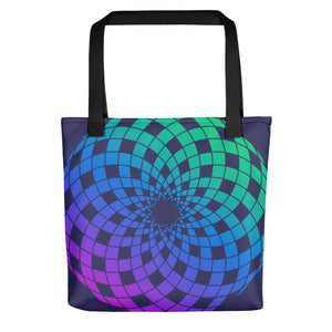 Interlocking Spirals Tote bag