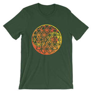 Flower of Life / Ying Yang Short-Sleeve Unisex T-Shirt