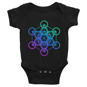 Metatron Cube Infant Bodysuit / Onesie
