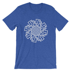 Flower of Life Vortex Short-Sleeve Unisex T-Shirt