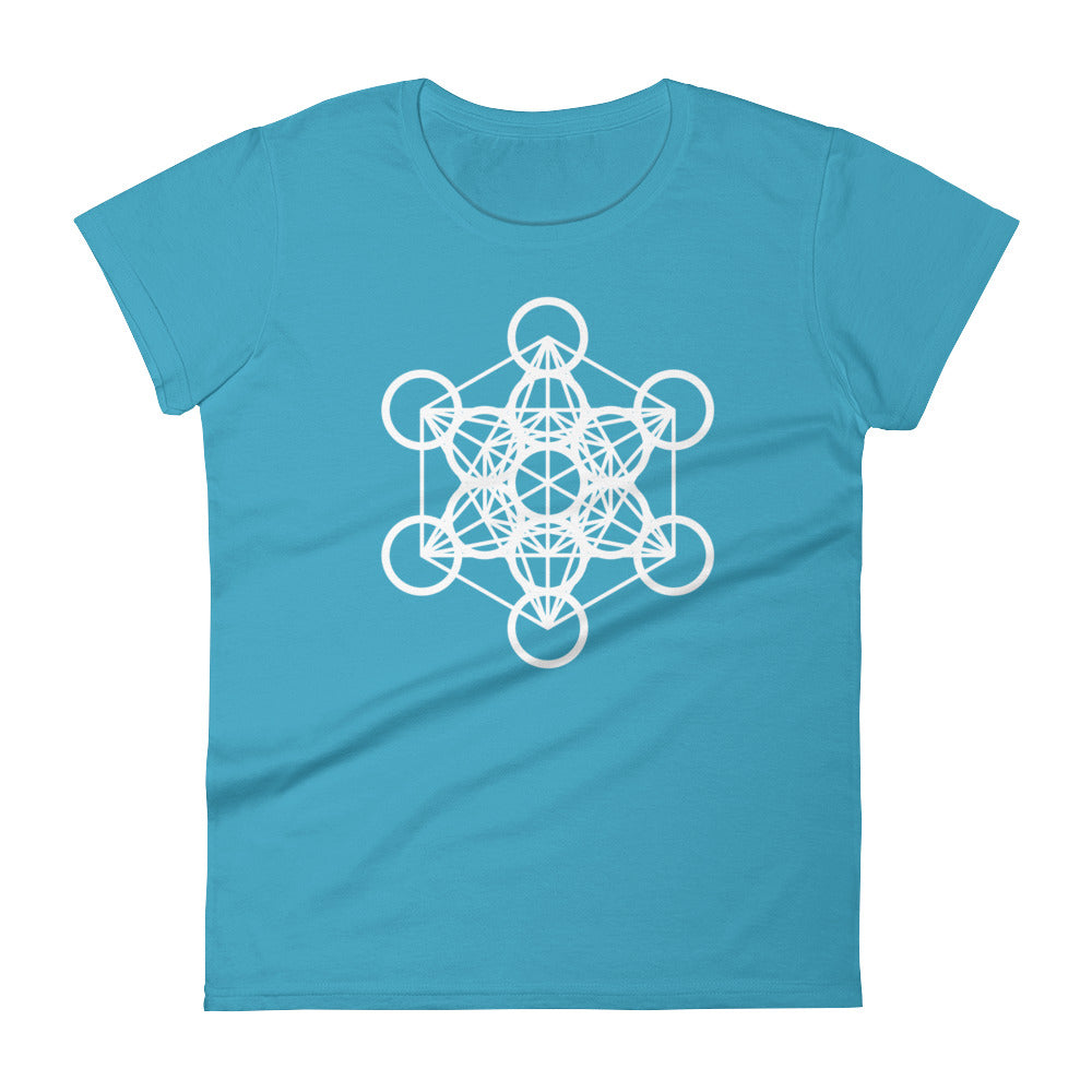 Metatron Cube Women's short sleeve t-shirt