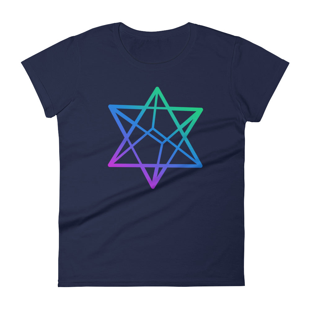Merkabah Women's short sleeve t-shirt