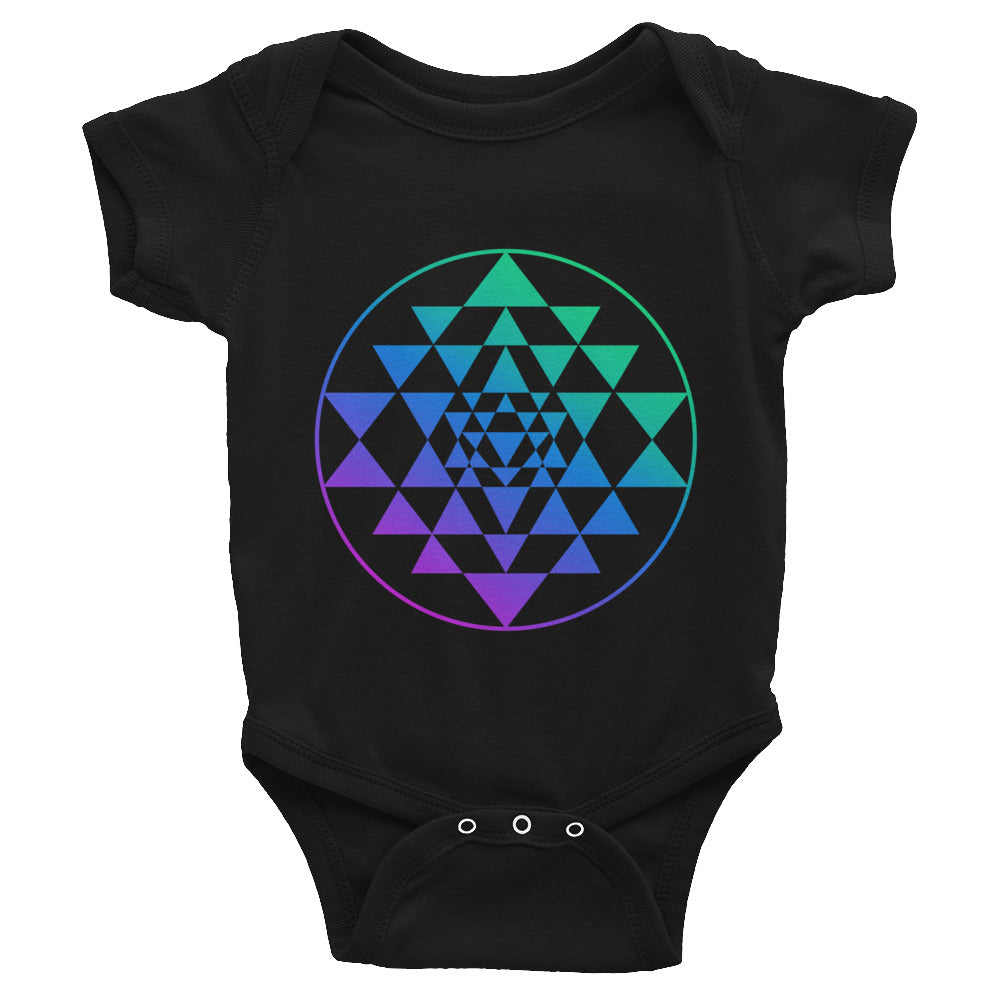Sri Yantra Infant Bodysuit / Onesie