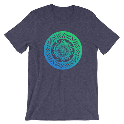 Flower Mandala Short-Sleeve Unisex T-Shirt