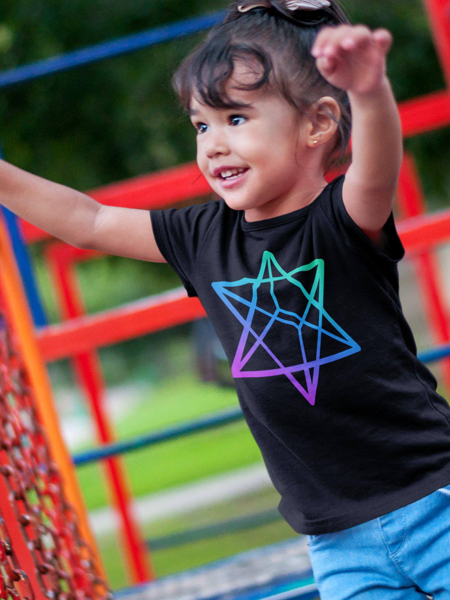 Merkabah Short sleeve kids t-shirt