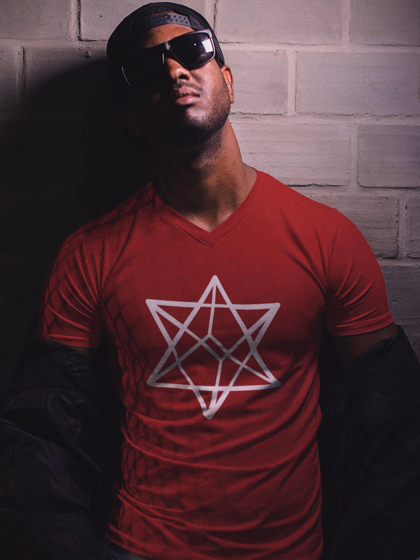 Merkabah V-Neck T-Shirt