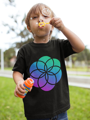 Seed of Life Short sleeve kids t-shirt