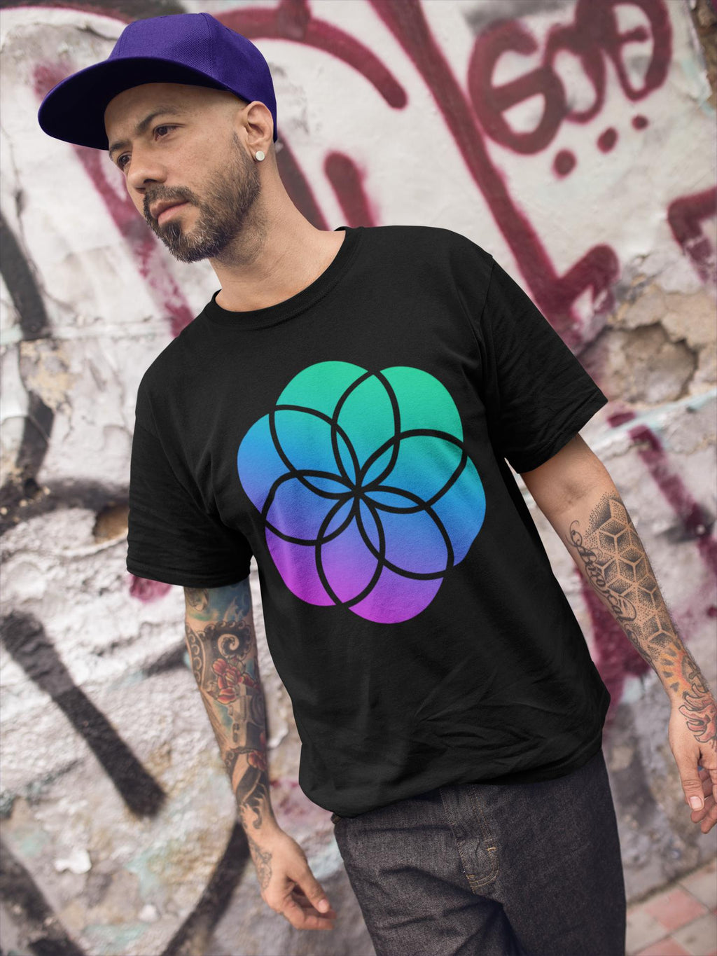 Seed of Life Short-Sleeve T-Shirt