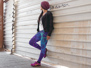 Metatron Cube Yoga Leggings