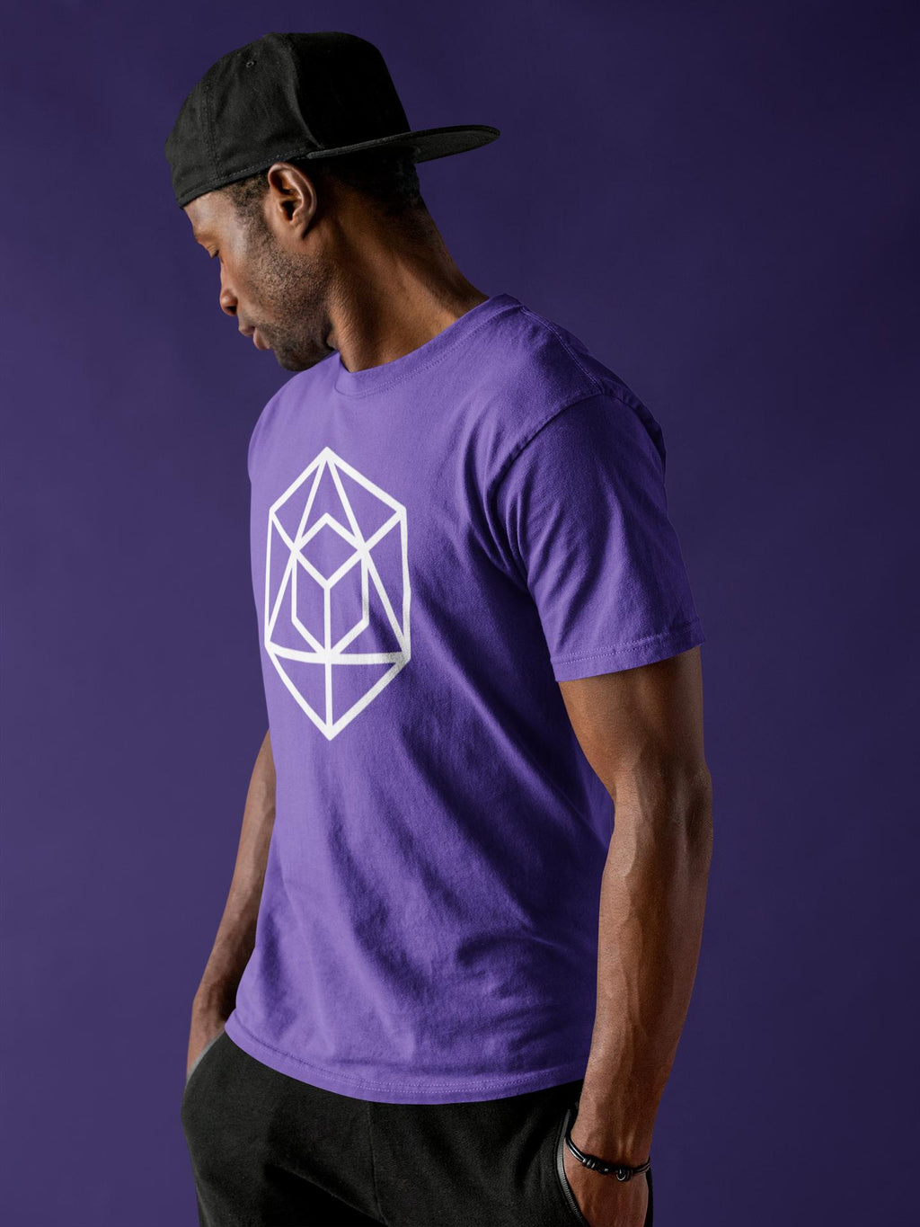 Geometric Form Short-Sleeve T-Shirt