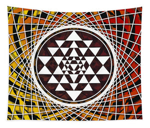 Sri Yantra - Wall Tapestry