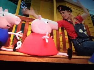 Peppa Pig's first cinema experience