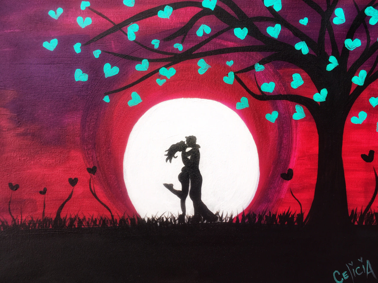 MOONLIT LOVERS - AuthenticHeARTwork