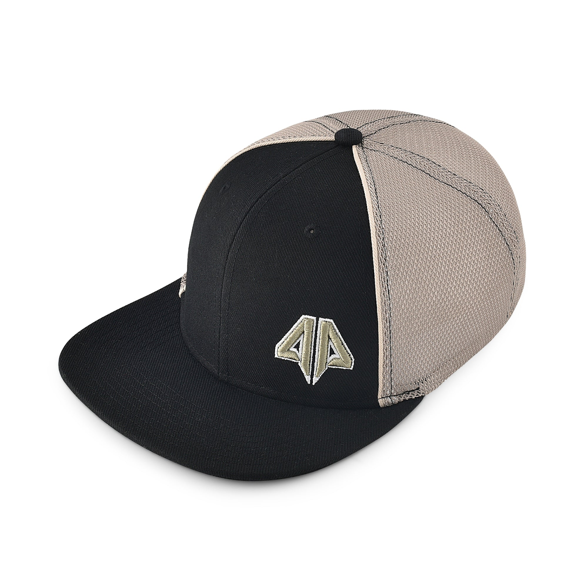 Alpha Prime Fitted Hat - 101FM-Black Gold - Alpha Prime Sports 429adc429a2