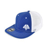 Alpha Prime Fitted Hat - 101FM-Blue/White