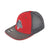 Alpha Prime Fitted Hat - 101FM-Red/Grey