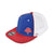 Alpha Prime Fitted Hat - 101FM-Red/White/Blue