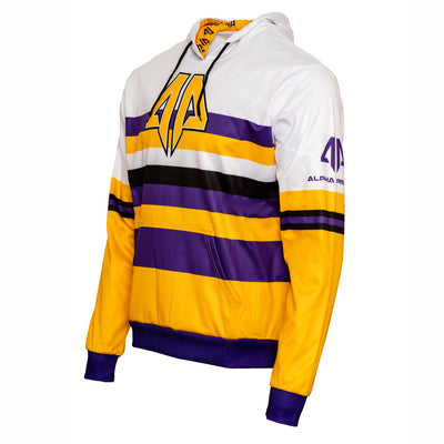Alpha Prime Hoodie - Yellow/Purple
