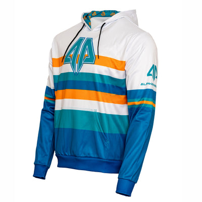 Alpha Prime Hoodie - Blue/Orange